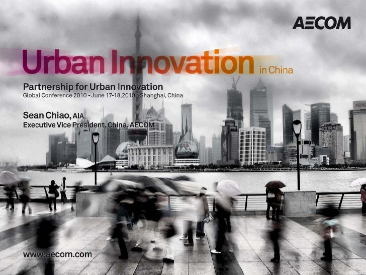 Sean Chiao - Urban Innovation in China