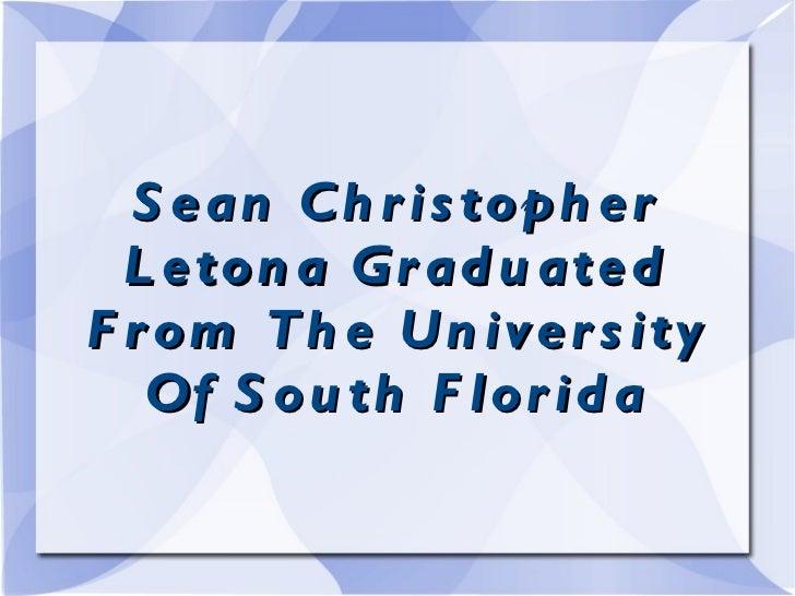 Sean Christopher Letona - Florida