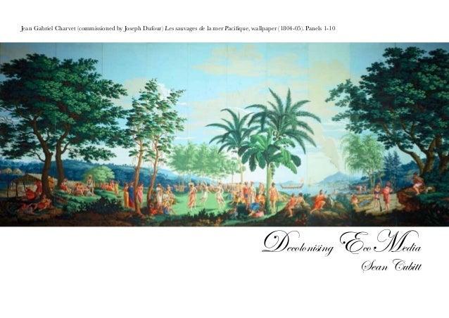 Jean Gabriel Charvet (commissioned by Joseph Dufour) Les sauvages de la mer Pacifique, wallpaper (1804-05). Panels 1-10 De...