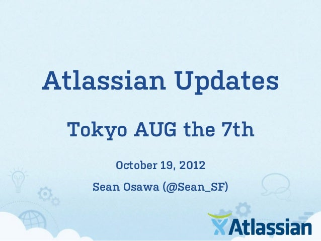 Sean's Slides at Tokyo AUG 7th