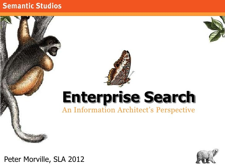 Enterprise Search: An Information Architect's Perspective