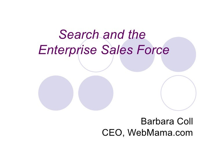 Search And The Enterprise