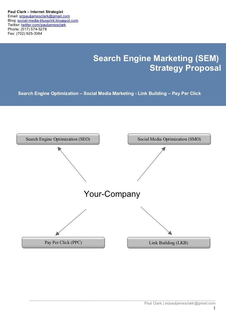 Social Media Marketing Proposal