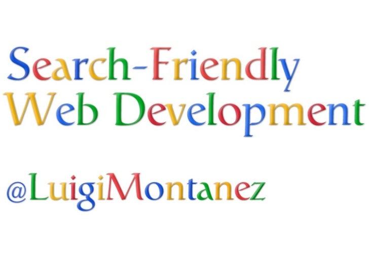 Search-Friendly Web Development at RubyNation