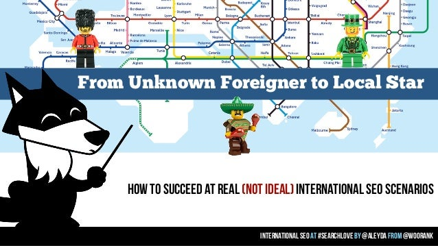 How to Succeed at Real International SEO Scenarios - #SearchLove London