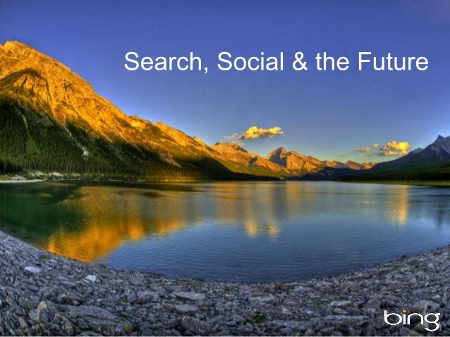 Search, Social and the Future (OMCap/Berlin)