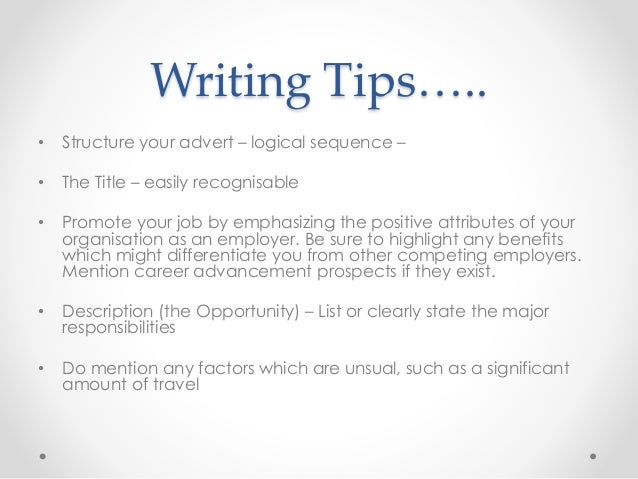 9 Simple Steps to Writing a Compelling Job Advertisement