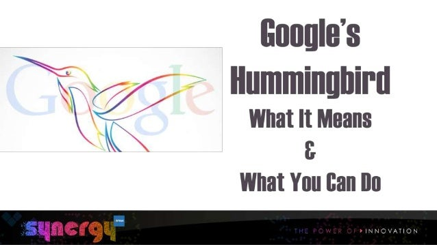 Google Hummingbird: What It Means and What You Can Do About It