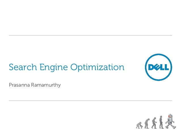 Search Engine OptimizationPrasanna Ramamurthy