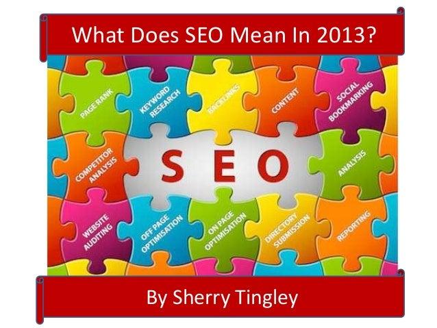 Basic Beginning Search Engine Optimization 2013