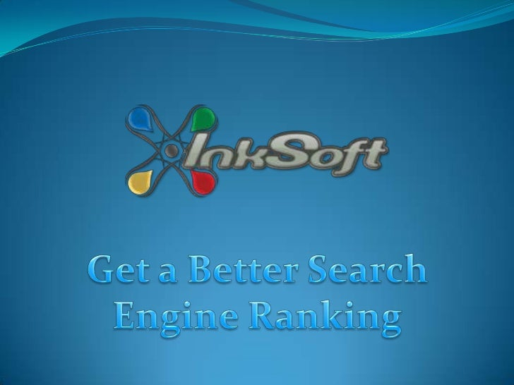 Search engine rank