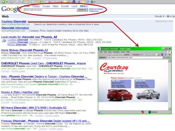 Search Engine Optimization for Car Dealers SEO