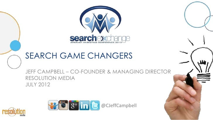 Search Engine Marketing Game Changers