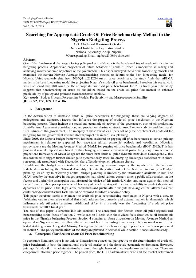 Developing Country Studies ISSN 2224-607X (Paper) ISSN 2225-0565 (Online) Vol.3, No.12, 2013  www.iiste.org  Searching for...
