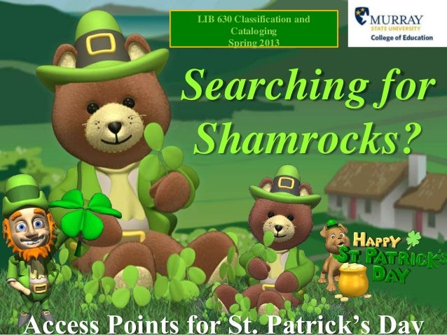 Searching shamrocks