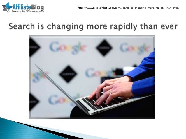 Search is changing more rapidly than ever