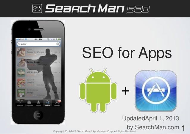 SearchMan Mobile Search Presentation at FOUND