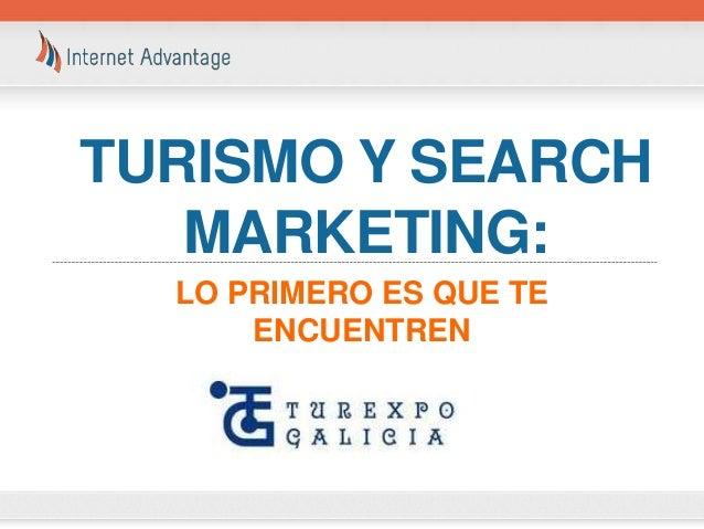 Turismo y Search Marketing