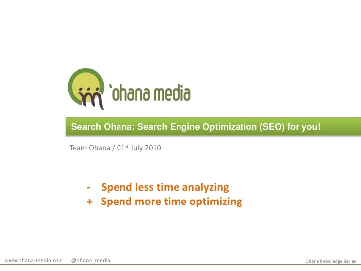 Search Ohana - SEO Search Engine Optimization
