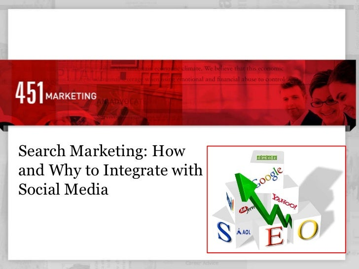 Search Marketing: How and Why to Integrate with Social Media