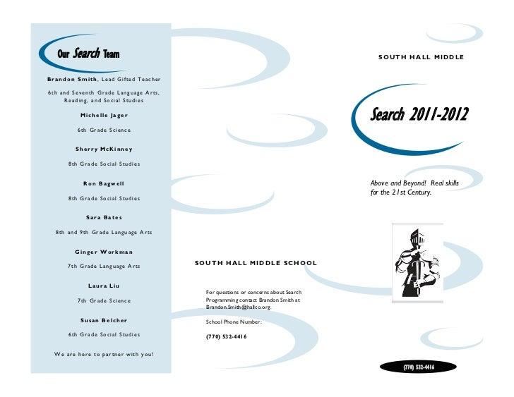 Search Programming Brochure
