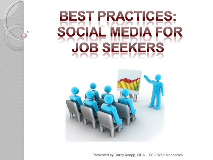 Search social media for job seekers