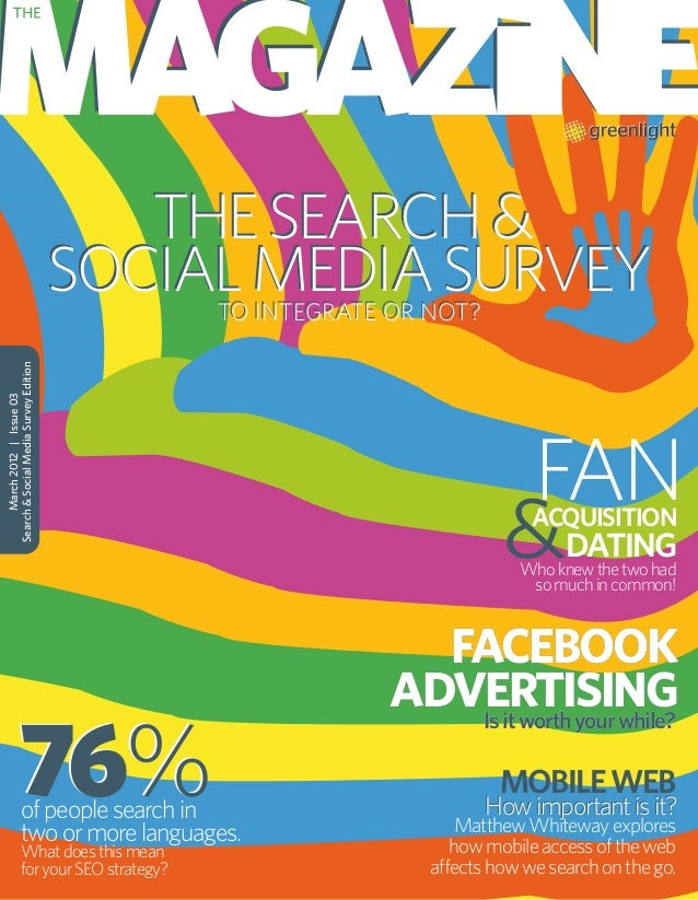 Greenlight's Magazine: Search & Social Media Survey Edition