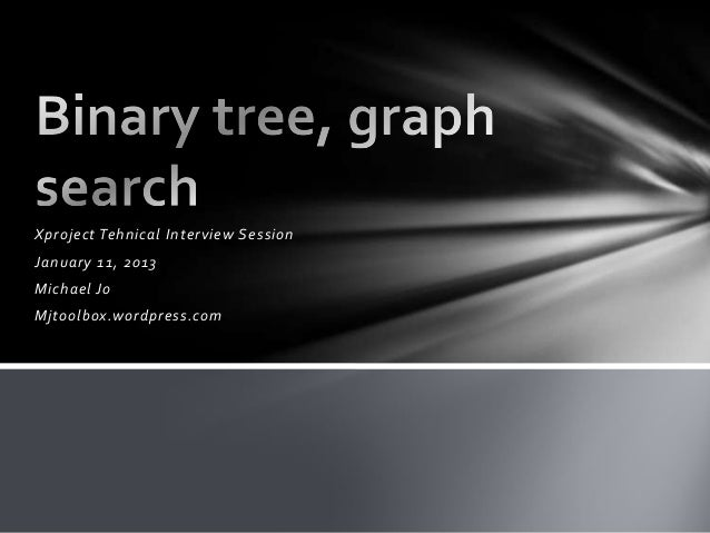 Search tree & graph