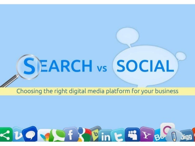Search vs Social by Ridho Irawan, CMO Exo Digital Agency