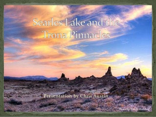 Searles Lake and the Trona Pinnacles
