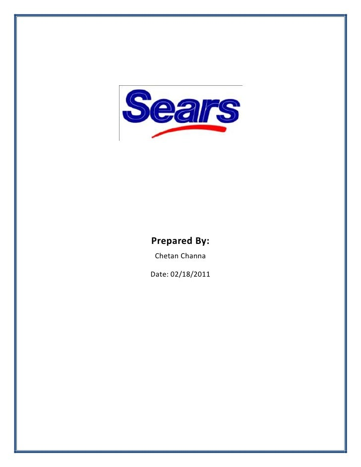 Sears canada Competitive Analysis