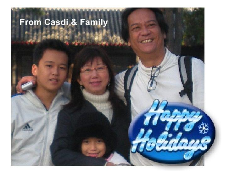From Casdi & Family