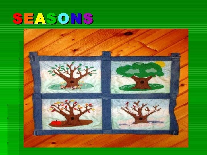 Seasons of a year