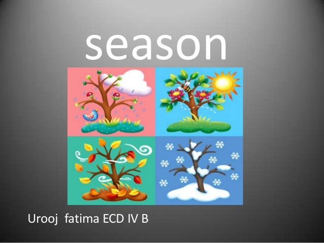 season  Urooj fatima ECD IV B