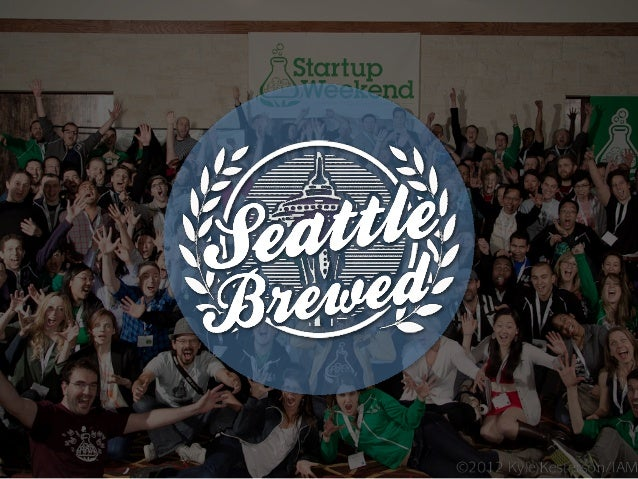 SeattleBrewed.org: Presentation (SWSEA13)