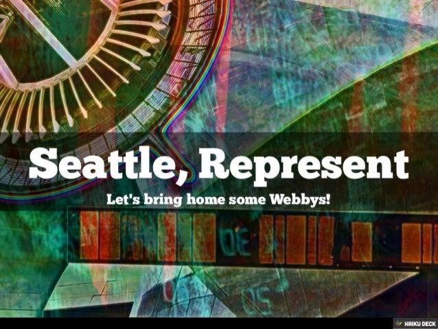 Seattle, Represent!