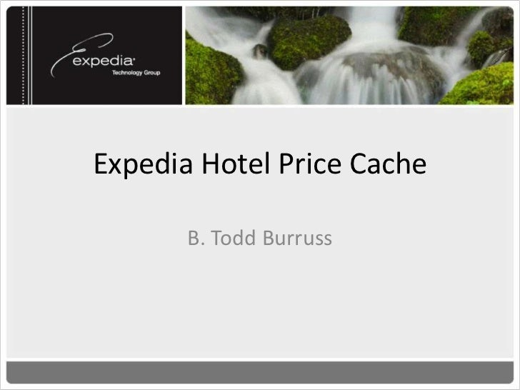 Expedia's MotivationWe need the ability to search by price in a fastand efficient manner. Prices are complexobjects contai...