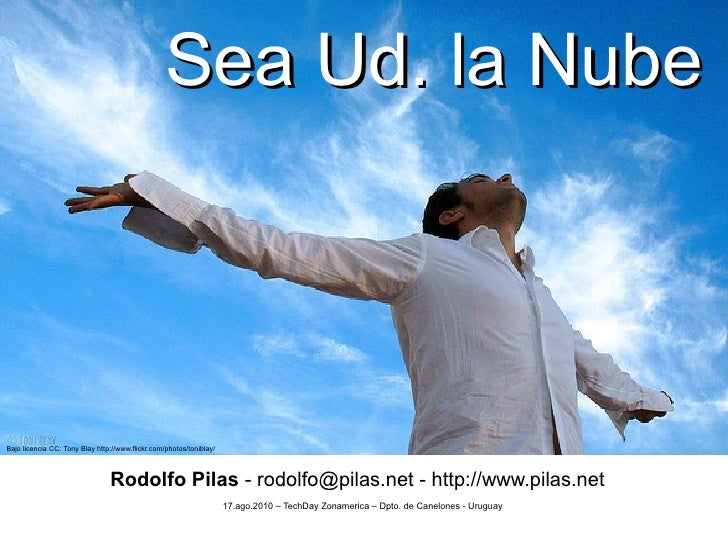 Sea Ud. la Nube