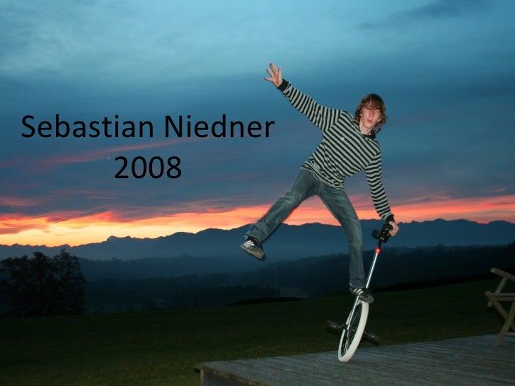 Sebastian Niedner 2008