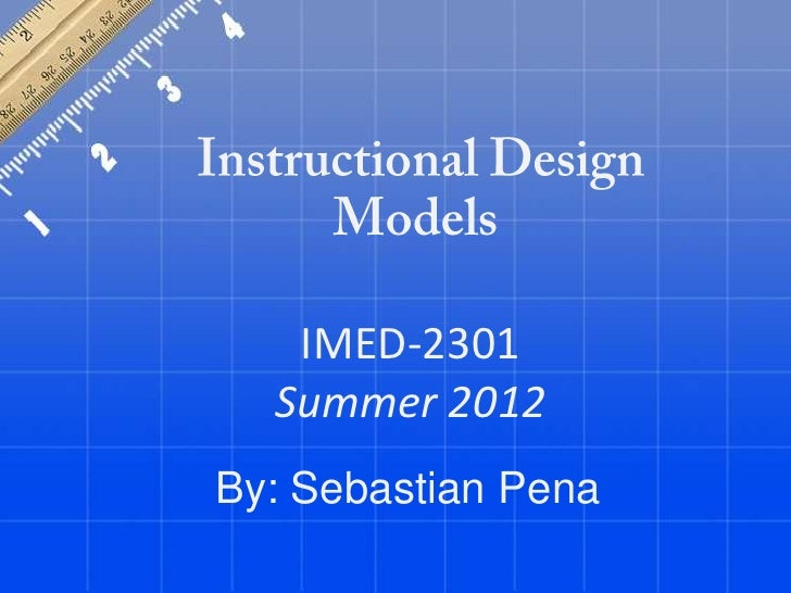 Sebastian pena criterion referenced instruction_and_addie_model