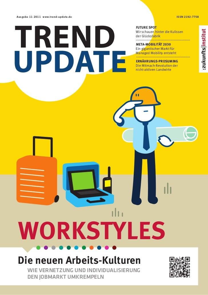 Ausgabe 11 2011 www.trend-update.de                                   ISSN 2192-7758Trend                                 ...