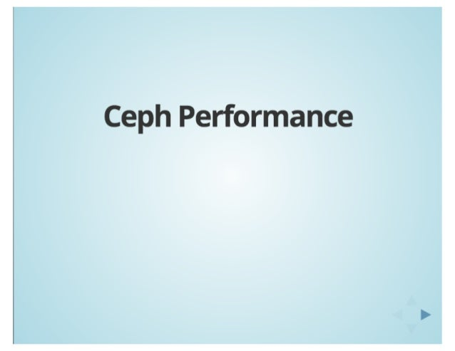 London Ceph Day: Ceph Performance and Optimization