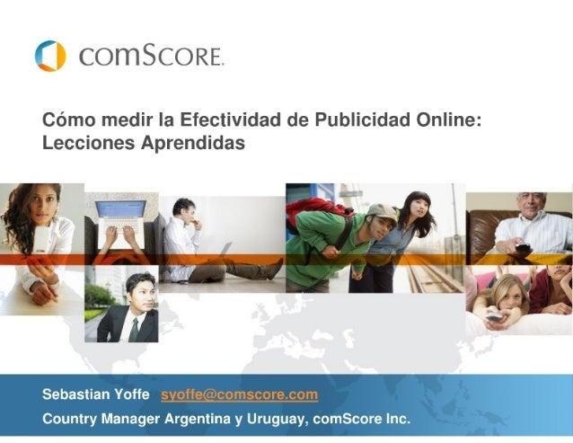 Cómo medir la Efectividad de Publicidad Online: Lecciones Aprendidas