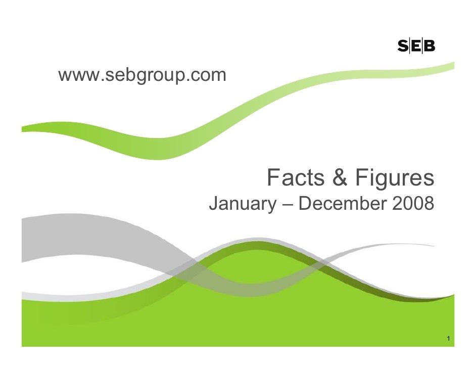 SEB Facts And Figures January December 2008