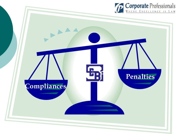 Sebi Complainces Penalties