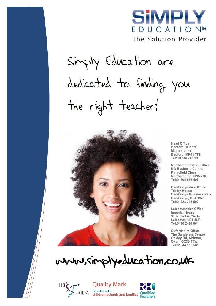 Simply Education Brochure