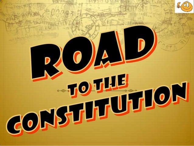 Sec. ed. 337 road to the constitution