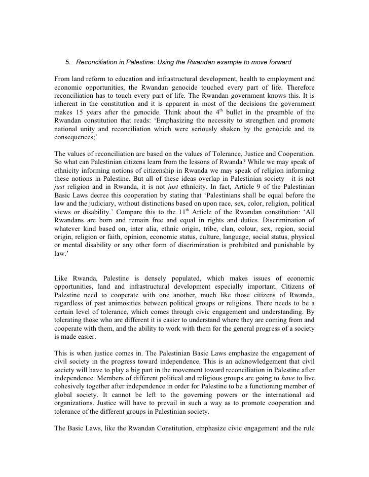Sec 5 Reconciliation In Palestine