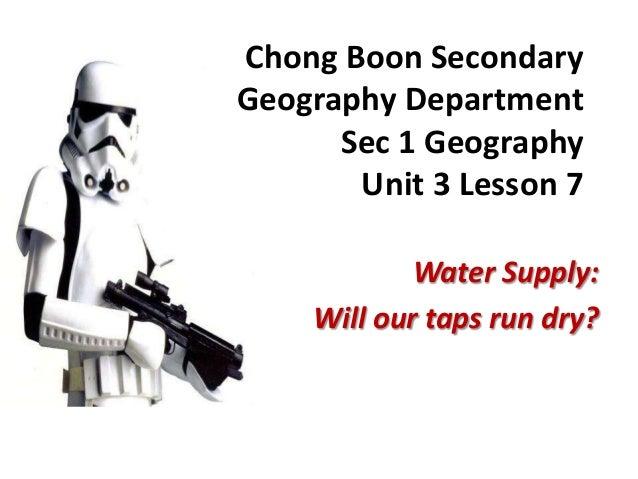 Sec 1 geog unit 4 lesson 1