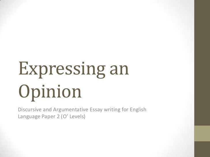 Synthesis Essay AP English Language